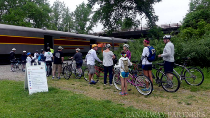 bike aboard at cuyahoga valley scenic railroad canalway partners